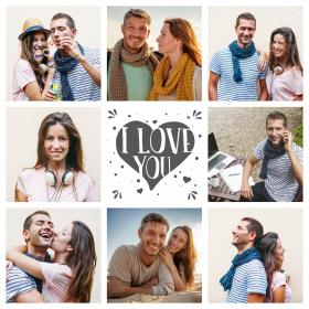 Collage amore 4_i love you