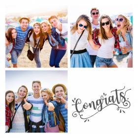 Collage compleanno_con 4 foto_congrats