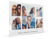 Collage di foto su plexiglass