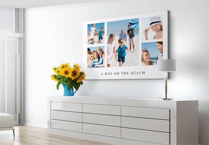 collage acrilico_vacanze_parete