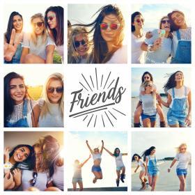 collage amicizia_con 8 foto