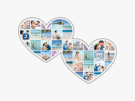 collage foto cuore 2
