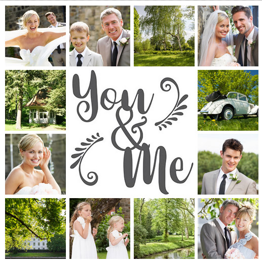 collage foto matrimonio slider