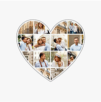 collage slider cuore distributore