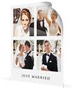 collage su poster_coppia di sposi