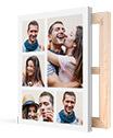 collage su tela_esempio con coppia